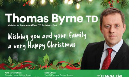 Christmas greetings from Minister of State