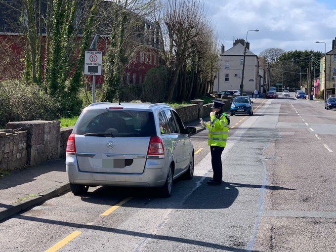 Four Meath residents caught driving to Cork