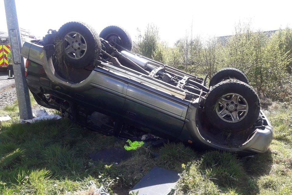 Crash near Kells