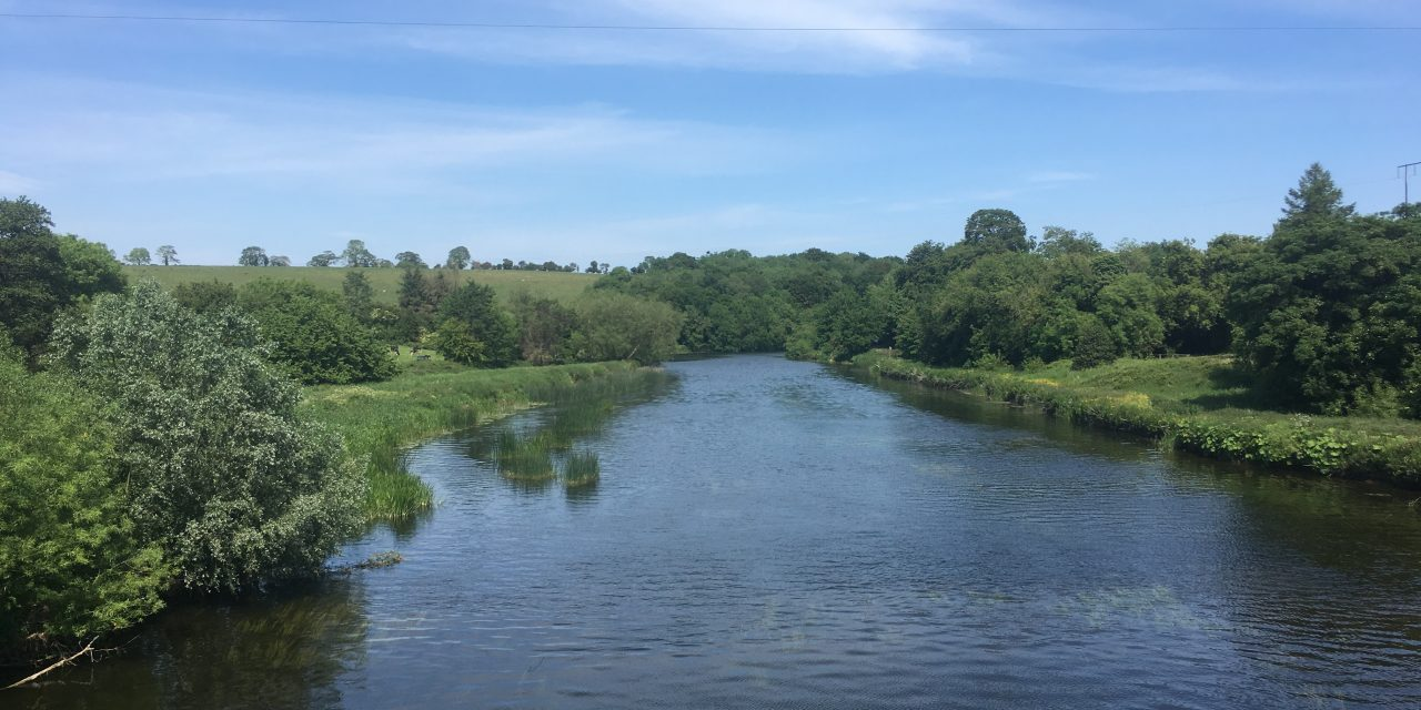 The Boyne this Whit Weekend as beautiful as ever.