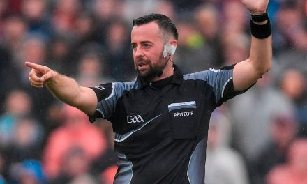 Referee Gough fields tricky twitter questions