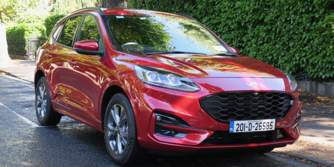 FIRST DRIVE IN FORD'S SMOOTH NEW KUGA