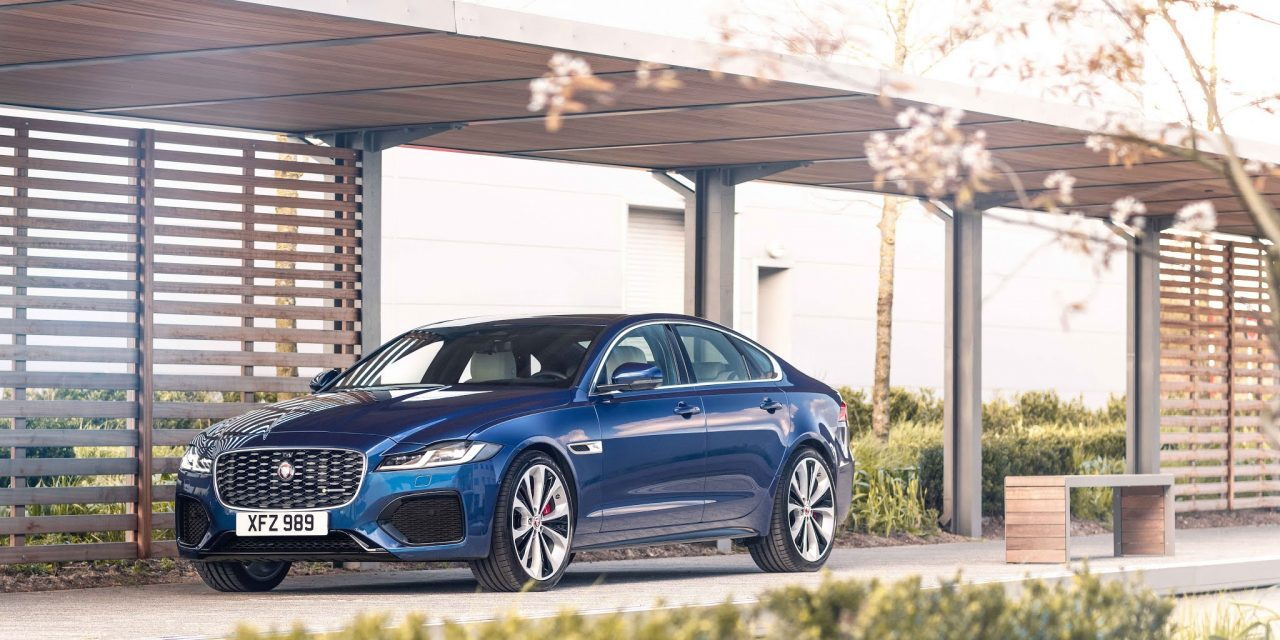JAGUAR XF GETS MAKEOVER
