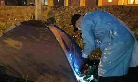Thugs set fire to homeless mans belongings in Navan