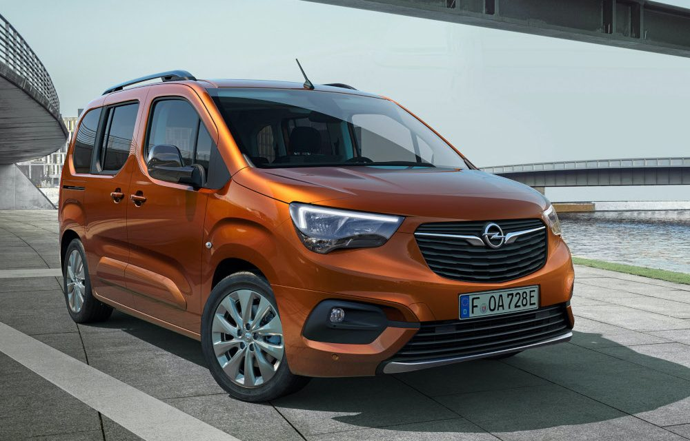 COMBO-E LIFE TO EXTEND OPEL'S ELECTRIC CARS RANGE