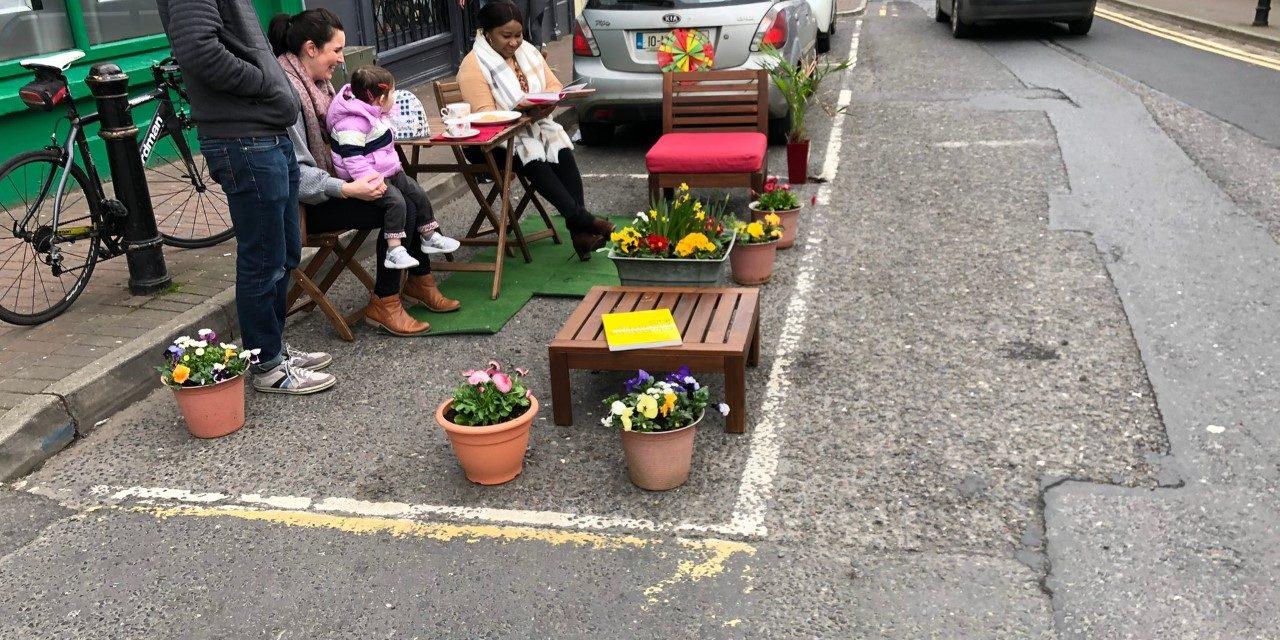 Adenuga; Parklets are the way forward