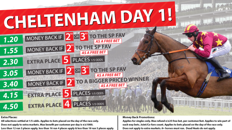 Cheltenham with Tully Bookmakers