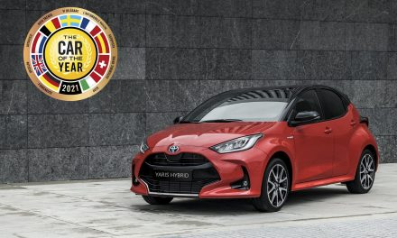 NEW YARIS IS EUROPEAN CAR OF THE YEAR