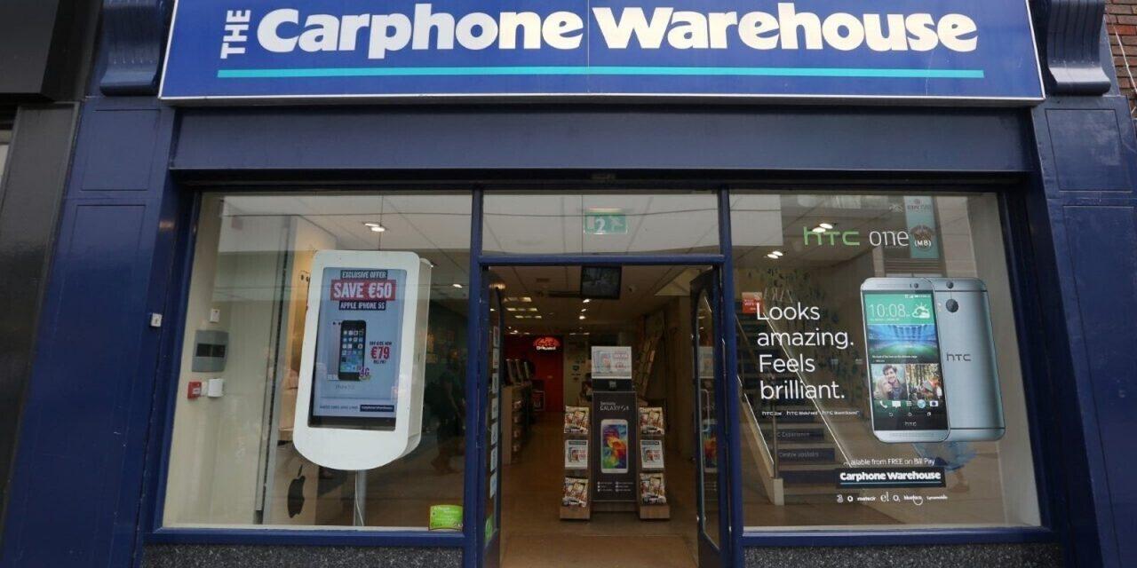 Navan Carphone Warehouse was profitable claims stunned worker