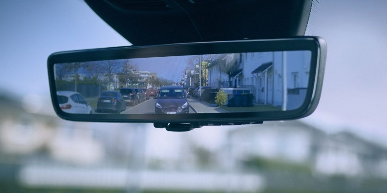 NEW CAMERA MIRROR FOR FORD VANS
