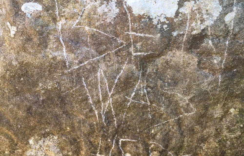 Vandals deface ancient Oldcastle monument