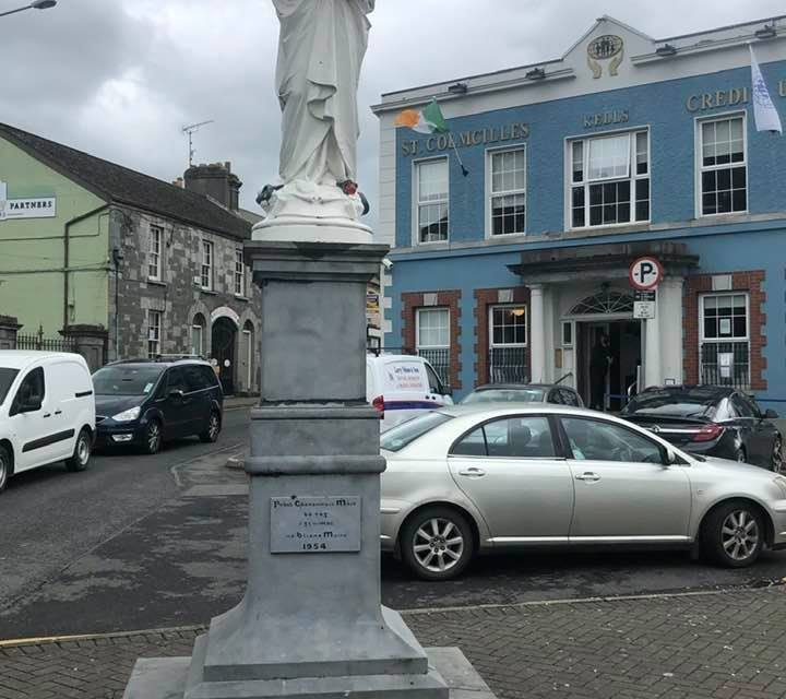Row breaks out over disabled ramp at Kells Credit Union