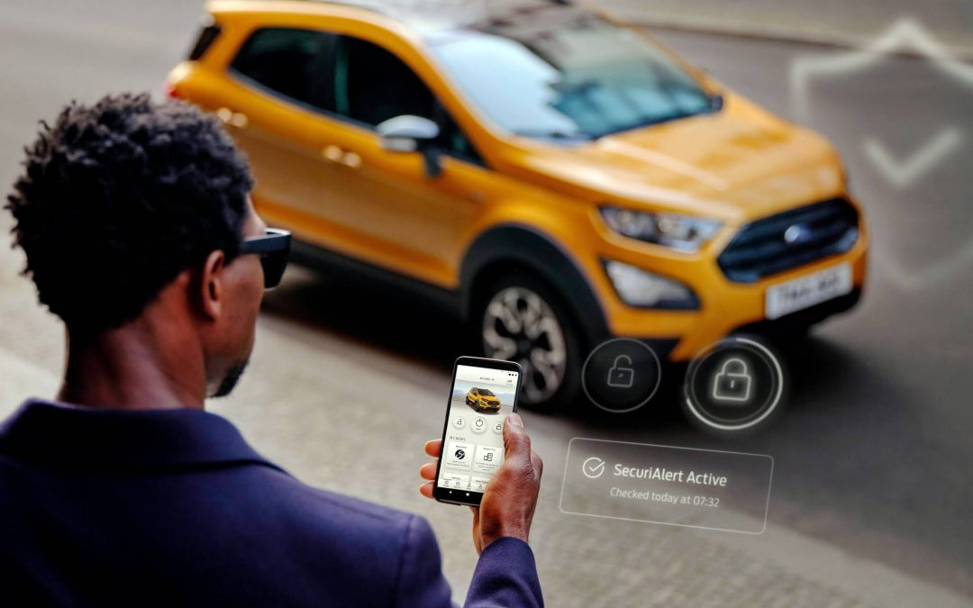 SMARTPHONE CAR SECURITY SYSTEM FOR FORD OWNERS