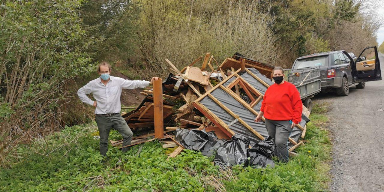 Emlagh group tell dumpers, 'Bog Off'