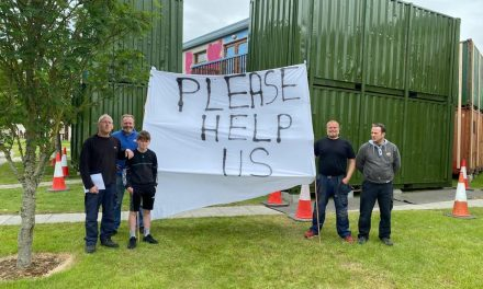 Enfield Residents claim they are being forced into moving out