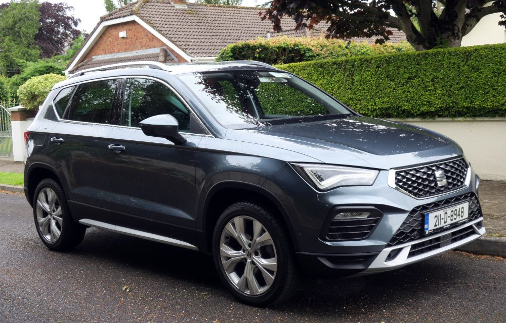 SEAT'S ATECA IS A SENSIBLE FAMILY CHOICE