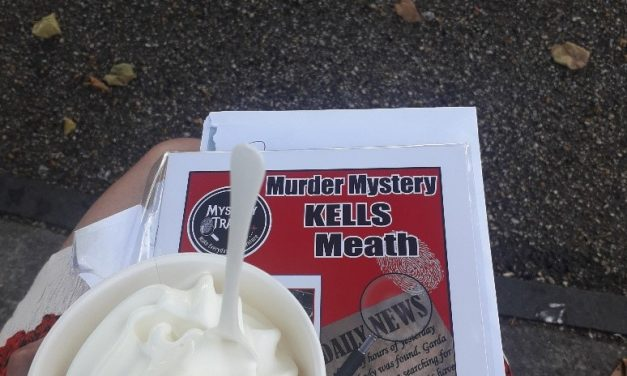 Kells mystery solved and a free ice cream as well!