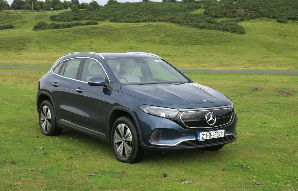 MERCEDES EQA MAKES 60 YEARS OF KNOWLEDGE IRRELEVANT