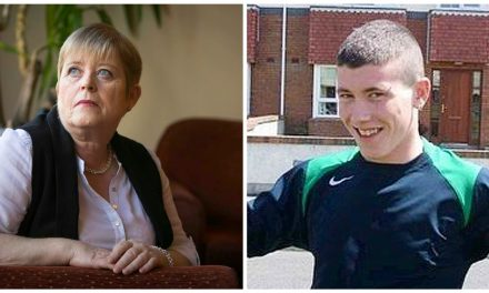 EXCLUSIVE; ' MRS BROWNE MADE ME LAUGH AGAIN AFTER MY SONS TRAGIC DEATH'